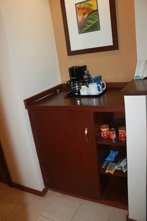 Hodelpa Garden Court: Mini bar