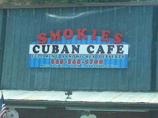 Smokies Cuban Cafe: yum which I was there now