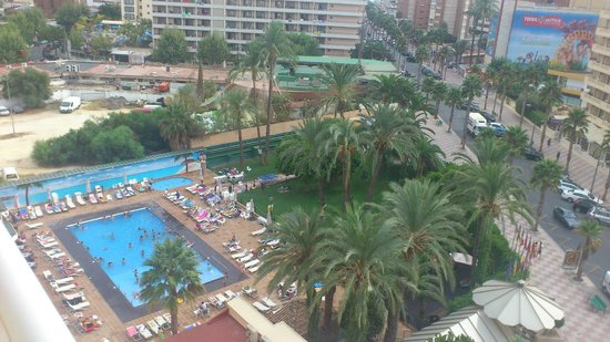 Hotel Helios Benidorm : Vistas