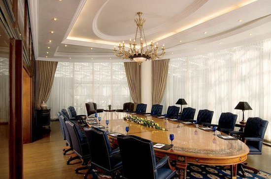 The Ritz-Carlton, Moscow: Alma-Ata, an exclusive boardroom seating 18 guests