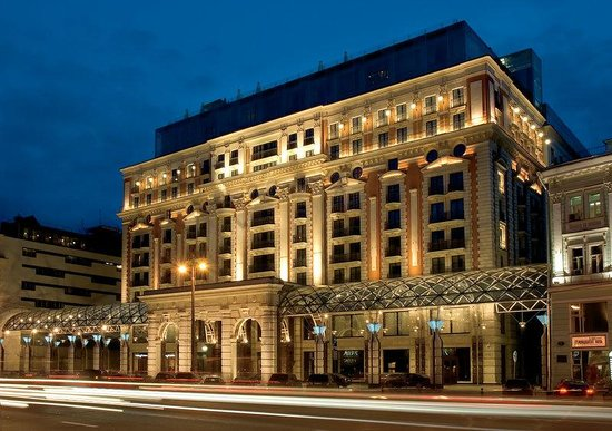 The Ritz-Carlton, Moscow: Exterior