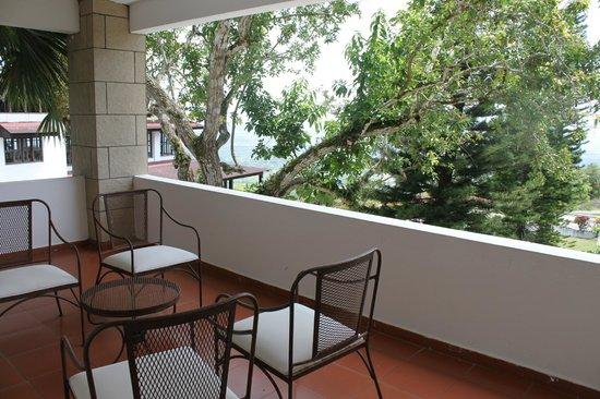 Camp David: Room balcony