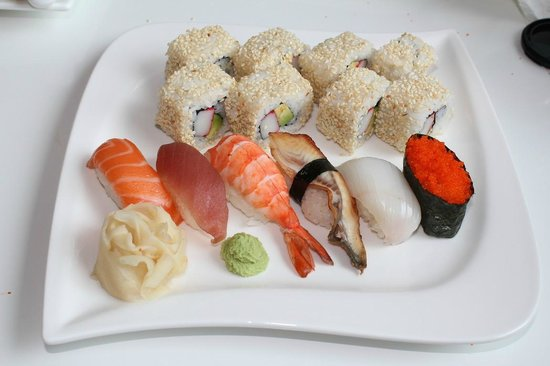 Misaki: Sushi Menü 8