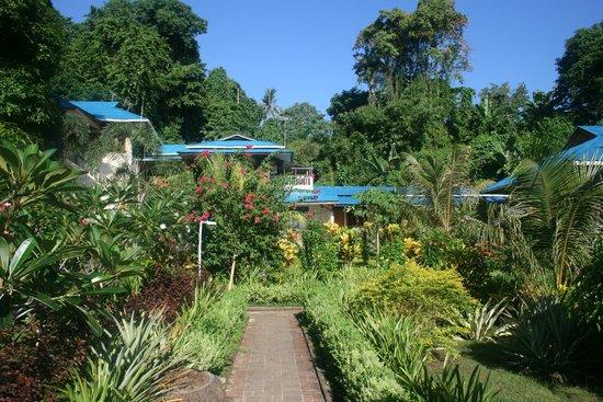 Bunaken Beach Resort: Вторая территория отеля