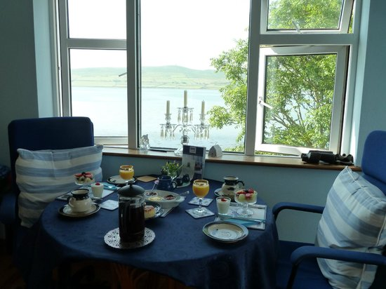 Blue Heron Dining Room Picture Of Blooming Wildflower Cottage Dingle Tripadvisor