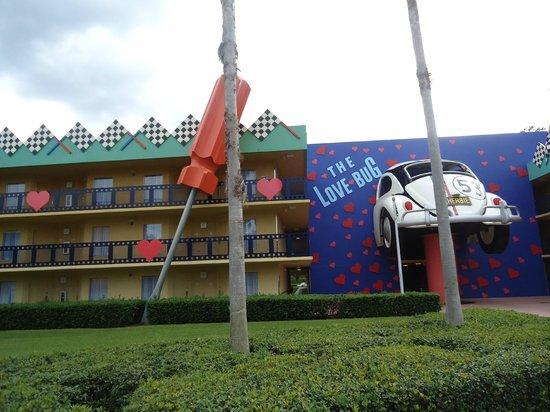 Disney's All-Star Movies Resort: Foto do prédio Lovebug