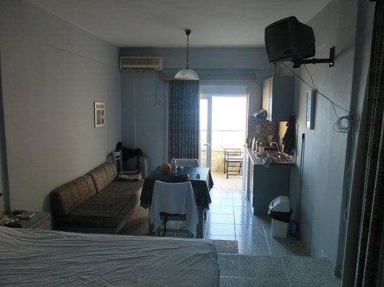 Ermis Suites : 2 pers. appartement met zeezicht