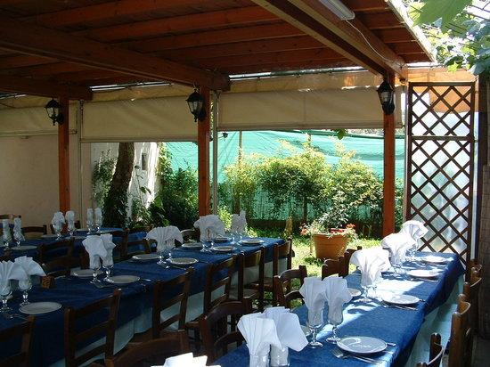 Ristorante Franco e Silvana: La terrazza