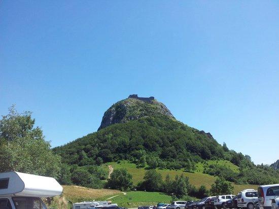 Chateau de Montsegur: Desde el párquing