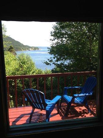 Kilmory Resort: View from cabin