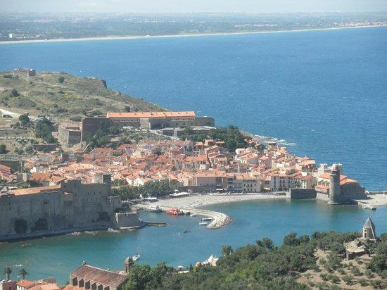 Hotel Princes de Catalogne: Collioure paysage
