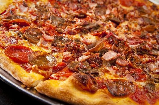 Meat Lovers Pizza Picture Of City Pizza Italian Cuisine