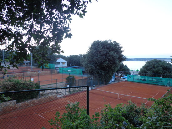 Valamar Club Tamaris : Great for tennis fans
