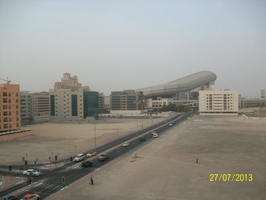 Centro Barsha: View from our room