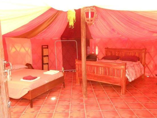 Finca Al Limón: Mongolian yurt