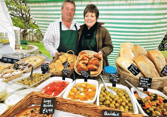 The Hunmanby Pantry: Hunmanby Pantry's stall at Filey Food Festival