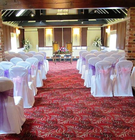 The Morley Hayes Hotel: Boutique Venue Dressing. Staffordshire