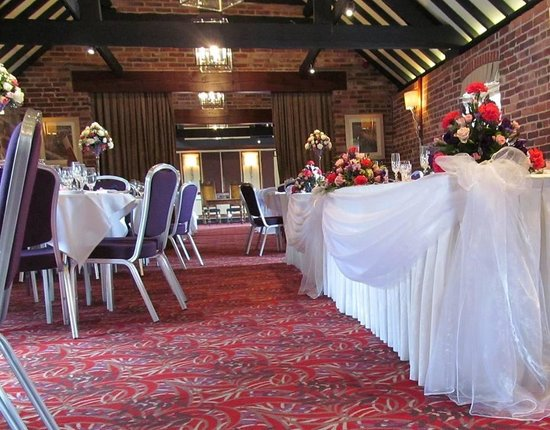 The Morley Hayes Hotel : Boutique Venue Dressing. Staffordshire