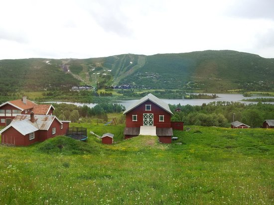 Ustedalen Hotel: A room with a view