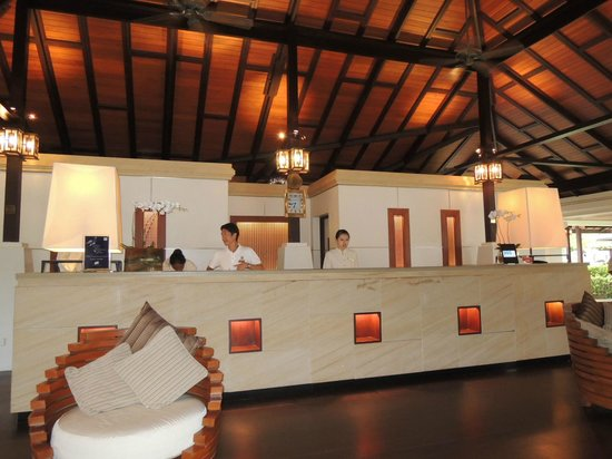 Pangkor Laut Resort: Reception Lobby