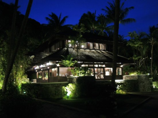 Pangkor Laut Resort: Fitness centre at night time