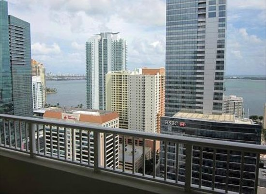 Churchill Suites Miami Brickell : Sample View in Two Bedroom Apartment Suite