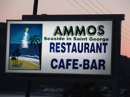 Ammos Seaside in Saint George: You Can't Miss it!