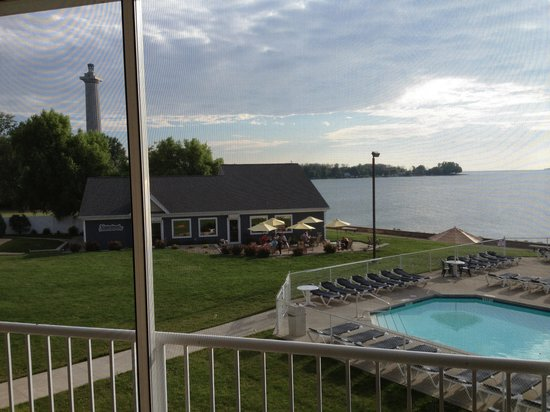 BayShore Resort: View from balcony room 224.