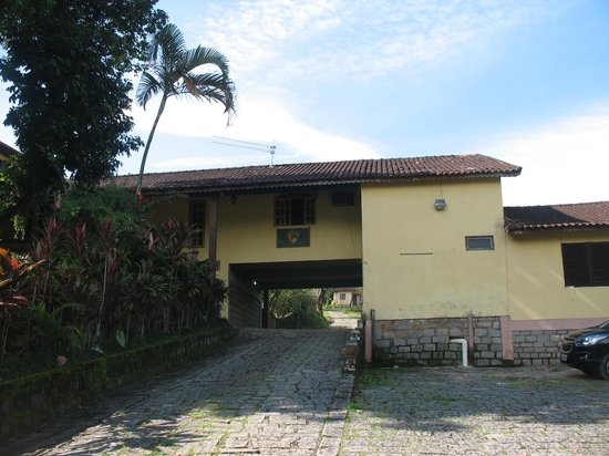 Cachoeiras de Macacu: Parte da sede do Hotel Sto Amaro