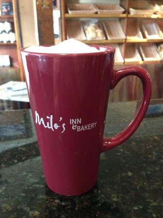 Milo's cafe and inn : mugs for sale