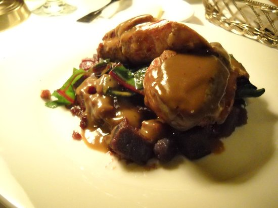 Belfry Bistro: Seared Long Island Duck Breast - absolutely divine!