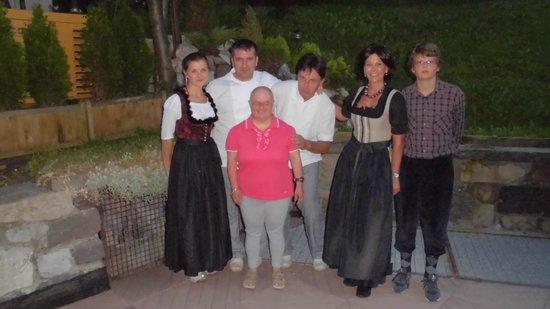 Hotel La Montanara: Cristina e il suo staff