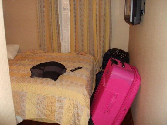 Belnord Hotel: no cabian las maletas