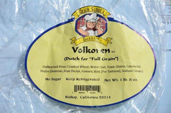 """Erick Schat's Bakkery: """"Volkoren"""" bread"""