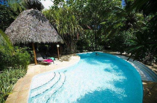 Hotel Cantarana pool, July 2013