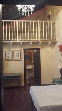 La Casona de Calderon: la habitacion