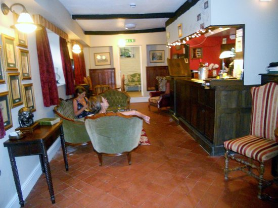 Holly Tree B&B Bromyard: Bar Area