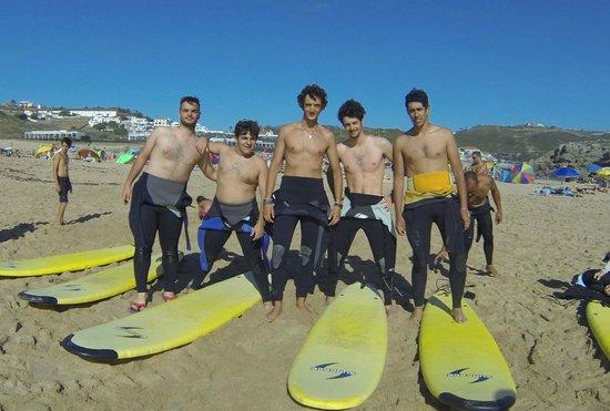Lisbon Surf Experience: Italiani sull'oceano
