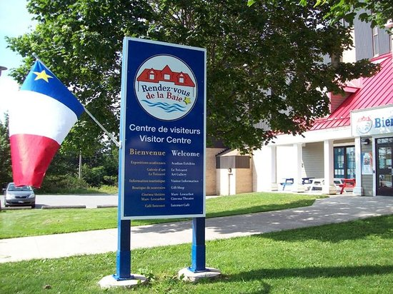 Church Point, Canada: Rendez-vous de la Baie - Visitor Centre / Centre de visiteurs