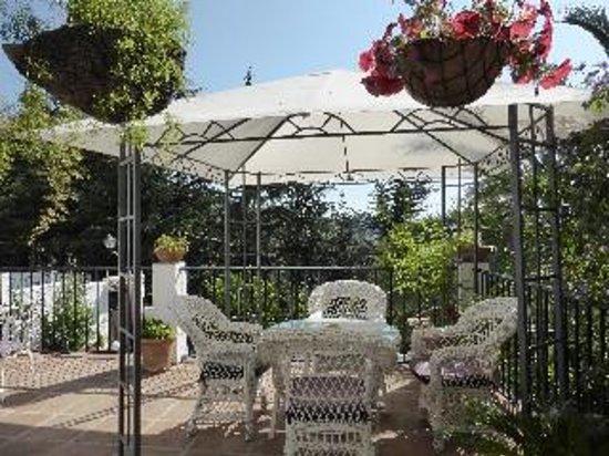 La Mejorana: breakfast patio