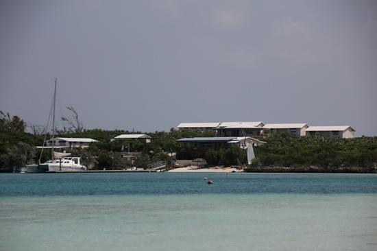 St Francis Resort: das Resort von der Hafenseite