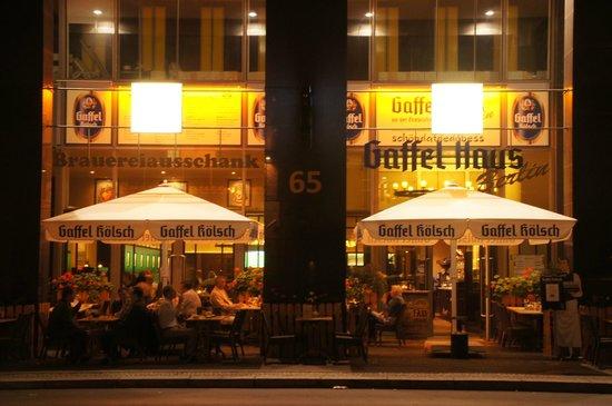 Gaffel Haus Berlin an der Friedrichstraße Berlin Mitte