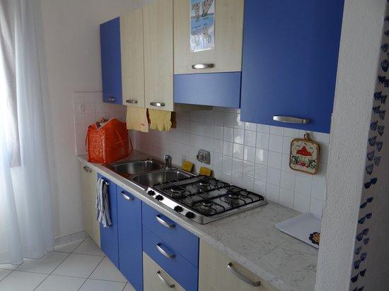 Divano letto in cucina - Picture of Residence Lucia, Santa Teresa ...