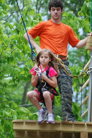 The Adventure Park at Storrs - Zipping