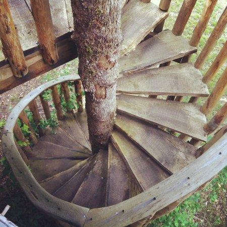 Les Cabanes de Jeanne: Treehouse
