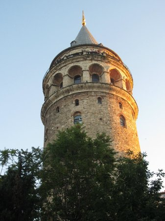 World House Istanbul: Galata Tower, just down the road from World House.