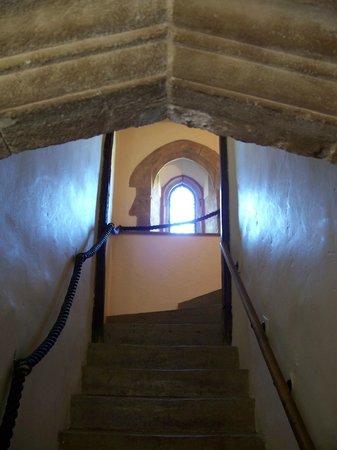Bailiffscourt Hotel: A staircase in main building
