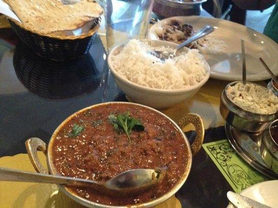 Swagath Indian Cuisine : lamb bhuna