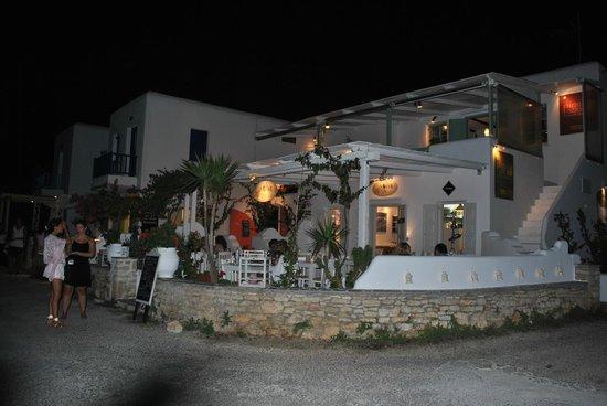 Folegandros, Grecia: Exterior of the restaurant