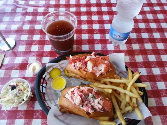 Old Port Lobster Shack Portola Valley Menu Prices